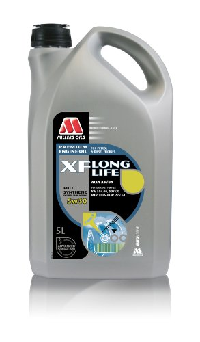 Millers XF Long Life 5 W-30 Fully synthetische motorolie, 5 l