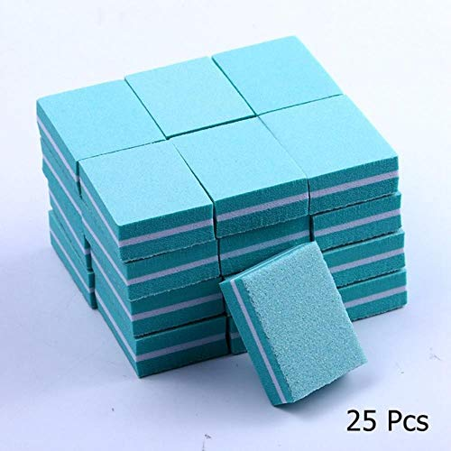 Coner Dubbelzijdige Mini Nagelvijl Blokken Kleurrijke Spons Nagellak Schuren Bufferstroken Polijsten Manicure Gereedschap, 17