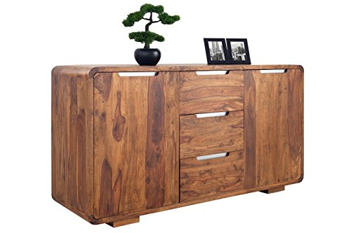 DuNord Design dressoir PANAJI 145 cm Sheesham massief hout