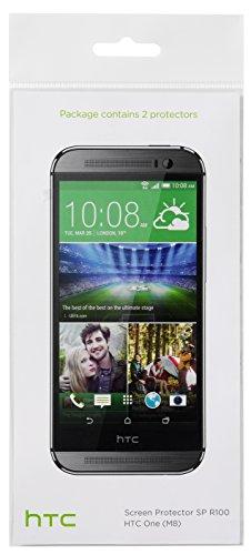 HTC Protector de Pantalla para HTC One M8 - Transparente (Paquete doble)