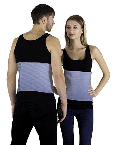 INFINITUM MEDICAL Rückenwärmer Angora & Merino Wolle für Damen und Herren - Wärmegürtel für Rücken - Nierenwärmer Hüftwärmer Leibwärmer - Hält beim Sport den Rücken Warm und Dient als Nierenschutz
