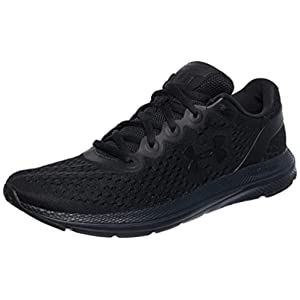 Under Armour Men's Charged Impulse Running Shoe, Black (003)/Black, 10.5