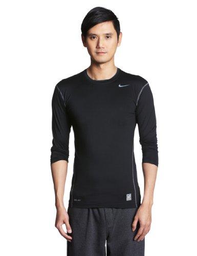 NIKE Pro Core - Camiseta para Hombre, tamaño XL, Color Negro