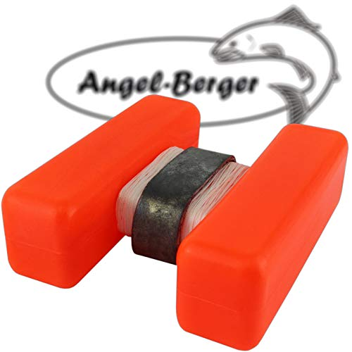 Angel-Berger H Boje Futterplatz Markierungen Marker Groß (Rot, Standard)