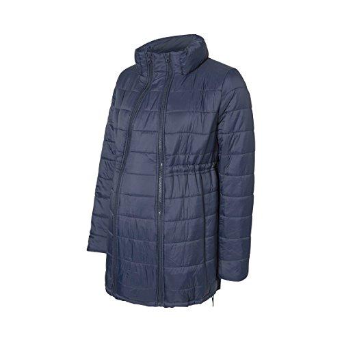 MAMALICIOUS Damen MLTOLLY Carrie ME Jacket Umstandsjacke, Blau (Navy Blazer Navy Blazer), 40 (Herstellergröße: L)