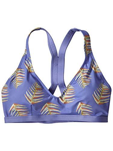 Patagonia W's Bottom Turn Top Bikinioberteil für Damen XS Herzflächen klein: hell violett-blau