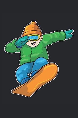 Snowboard Notizbuch, 120 Seiten: Snowboarder - Geschenke - Snowboard Notizbuch - Tagebuch für Frauen, Männer und Kinder - Punktraster