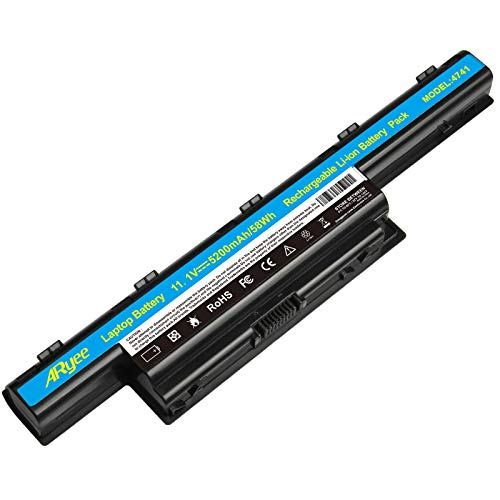 Laptop Battery for Acer AS10D31 AS10D51 AS10D56 AS10D75 AS10D81 AS10D61 AS10D41 AS10D73 AS10D71 AS10D3E Aspire 5250 5733z 5750 7741 5733 5755 5253-5200 mAh/58WH