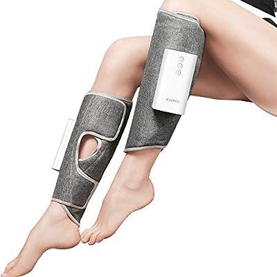 IKEEPFIT Leg Massager with Heat, Muscles Relaxa...