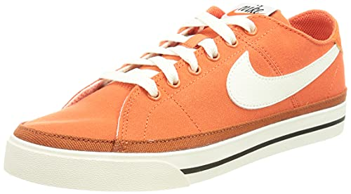 Nike Court Legacy, Zapatos de Tenis Hombre, Orange Sail Burnt Sunrise, 44.5 EU