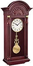 Bulova C1516 New Yorker Chiming Wall Clock, Mahogany