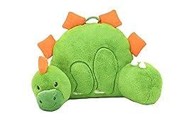 3. Animal Adventure Plush Dinosaur Backrest