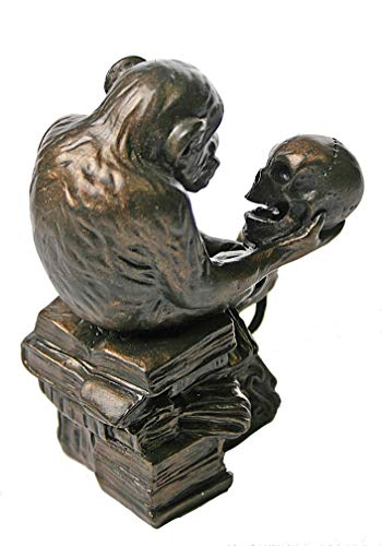 Parastone Museum Monkey with Skull Statue (1892-93) by Rheinhold