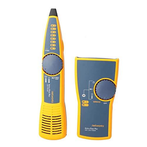 Tóner de cable de redes - Probador de cable de redes digitales MT-8200-60-KIT Kit de sonda y tóner de cable de audio inteligente, gris