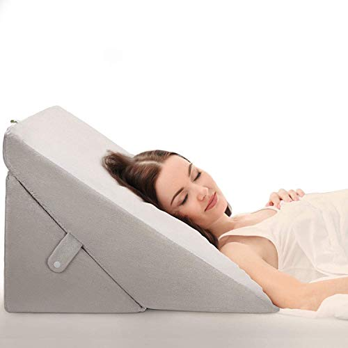 OasisSpace Bed Wedge Pillow