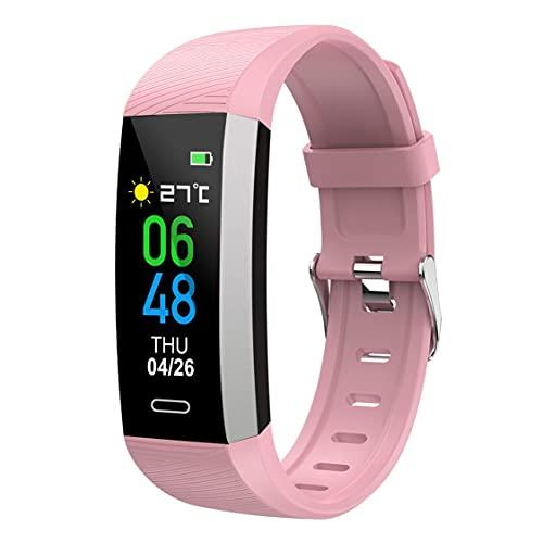 DDyna S03 Medición de la Temperatura Corporal Pulsera Inteligente Podómetro Monitoreo del Ritmo cardíaco IP67 Reloj Inteligente a Prueba de Agua