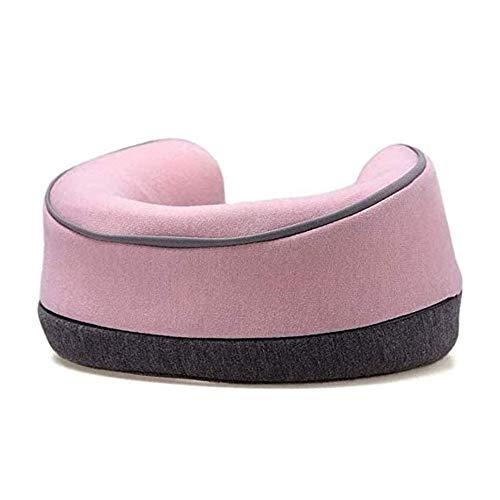 ZBQLKM Kit de sueño de la almohada de cuello de viaje - almohada de viaje de espuma de memoria 100%, Siesta apoya fuertemente las almohadas en forma de U, una pared interior de esponja de alta densida