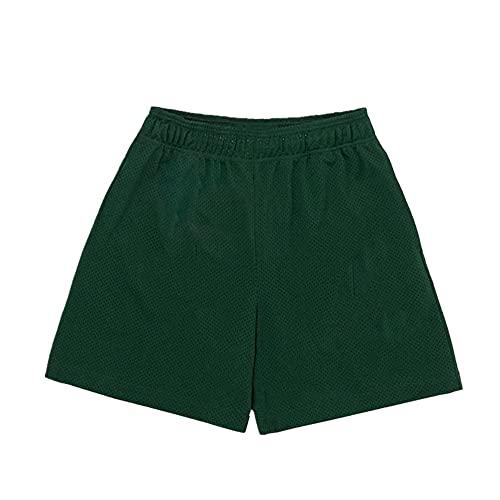 Eric Emanuel Basic Short Fitness - Pantalones cortos para hombre, verde, 54