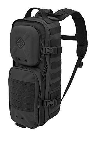Hazard 4 Plan-C(TM) Dual Strap Slim Daypack (R) - Black