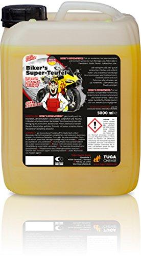 TUGA CHEMIE BT-5-D Biker's Super-Teufel Motorradreiniger Kanne, 5000mL