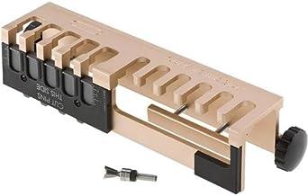 General Tools Gabarito de cauda de andorinha de alumínio portátil 861, 30,5 cm, madeira, construção de móveis e fabricação...