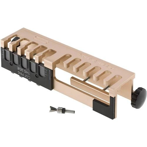 General Tools 861 Portable Aluminum Dovetail Jig, 12-inch, Woodworking, Furniture Building & Cabinet Making With Router Bit