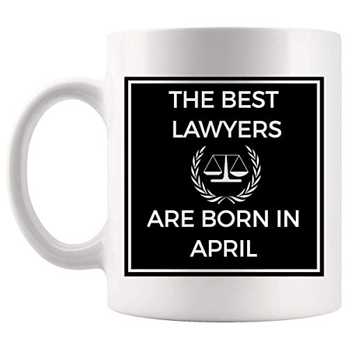 Broma Taza del abogado - Los mejores regalos de la taza de café Juez Fiscal de graduación para los chicos adolescente Motiavtional la camiseta de la graduación de regalo