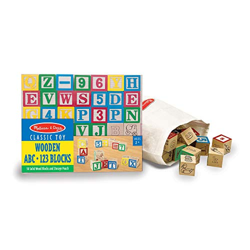 Melissa & Doug Deluxe Wooden Blocks Set