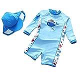 VJRQM Kinderbadebekleidung Junge Baby Dinosaurier Kinder UV-Badebekleidung Junge Badebekleidung Kinder Badebekleidung Badekostüm, 3-H1868,100