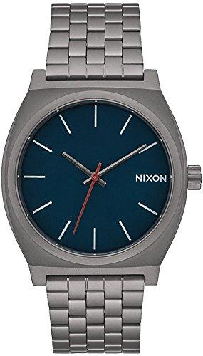 Nixon Time Teller Reloj para Unisex Analógico de Cuarzo con Brazalete de Acero Inoxidable A0452340
