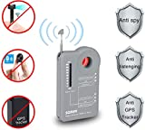 Hidden Camera Detector Finder with Foldable Antenna, Smaller, Quieter, Easier to USE, Bug Detector,Anti-Spy Camera Detector, GPS Tracker Detector, Listening Device Detector