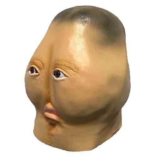 Sweet Máscara De Halloween para Adultos,  Divertido Mascarilla Facial Culo Styling Máscara De Parte De Los Apoyos De Látex Máscara De La Danza Horror