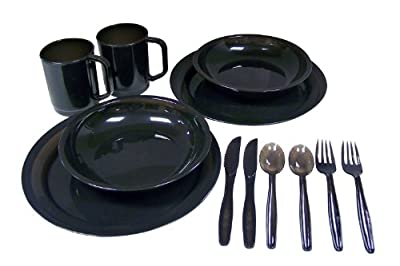 Coleman 2-person Dinner Set, Colors may vary