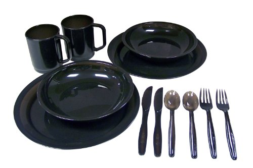 Coleman® 2-Person Dinner Set Colors May Vary