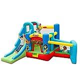 ZUIZUI Juguetes para niños Juegos al aire libre de los niños Castillos inflables Trampolines Niños Toboganes al aire libre Kindergarten Parque de atracciones Equipo