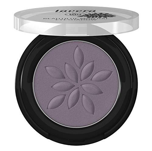 lavera Beautiful Mineral Eyeshadow -Matt'n Violet 33- Sombra de ojos ∙ Color intenso ∙ Coloración de minerales ∙ Vegan ✔ Cosmética Natural ✔ Bio ✔ Maquillaje Organico 100% Certificado (2 gr)