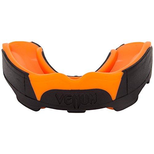 Venum Mundschutz Predator Zahnschutz, Schwarz/Neon Orange, One Size