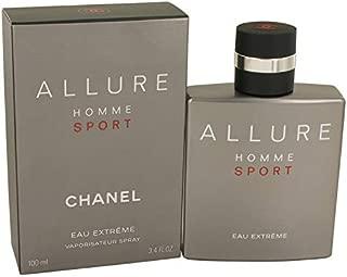Chânél Allure Homme Sport Eau Extreme Eau de Parfum Spray 3.4 Fl. OZ. / 100ML.