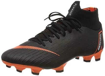 Nike Mercurial Superfly Vi Academy MG, Zapatillas de Fútbol Hombre, Negro (Black/Total Orange-W 081), 47 EU