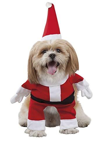 DISBACANAL Disfraz de Papá Noel para Perro - -, S