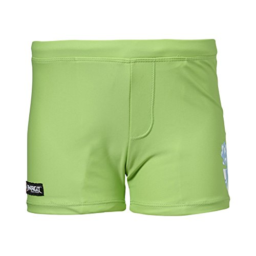Lego Wear Jungen Badeshorts Ninjago Aston 501, Gr. 116, Grün (Apple Green 832)