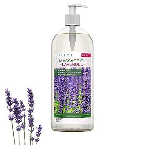 Olio da massaggio Aroma Lavenda 1000 ml - MyThaiMassage - Olio aromatico per Massaggio Thai Wellness Spa