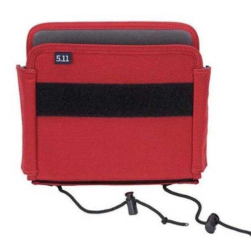 Organizador de bolso grande 5.11 TPO-II, vermelho fogo