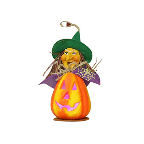 The Lights  Halloween Hollow Glowing Pumpkin Light Halloween Led Light Decoration Props Home & Garden Led Light Christmas for Faclot