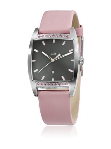 XEN Damenuhr rosa mit Swarovski Crystals XQ0233