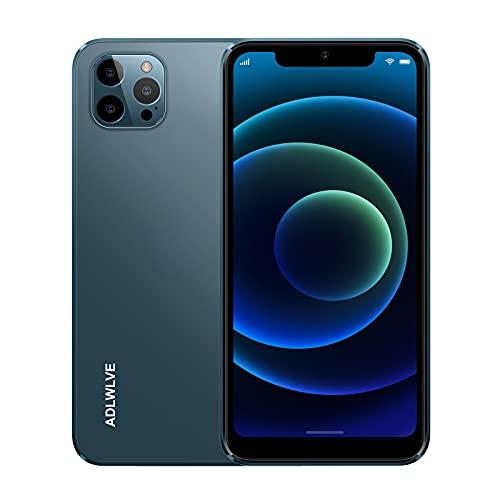 Smartphone Offerta del Giorno 4G, 6.3 HD+ Android 9.0 3GB RAM +32GB ROM 128GB Espandibili Cellulari Offerte 4600mAh Dual SIM Cellulari e Smartphone 8MP Fotocamera Face ID Telefonia Mobile (blu)