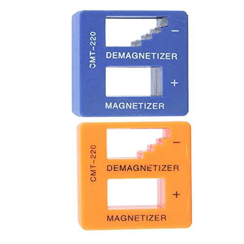 Magnetización rápida para destornillador Magnetizador Herramienta desmagnetizadora, para tornillos de destornillador, para vasos de destornillador