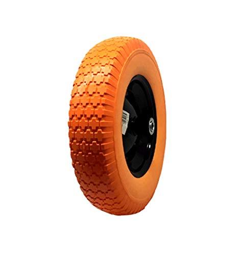 "BULLETSHAKER 16"" Flat-free Wheel Barrow Flat Free Tire Foamed Polyurethane Wheelbarrow Tire"