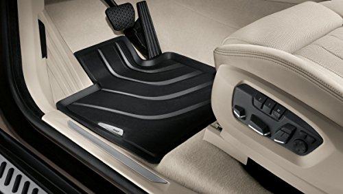 BMW - Tappetini anteriori in gomma LHD per BMW X6 F16