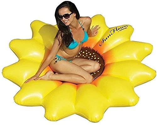 QUQU Anillo de natación inflables de Espesamiento de Doble válvula de Flotador Confortables niño Juguetes de Juego de la Piscina de Playa de los niños Lindos, Color: Marrón (Color : Lake Blue)